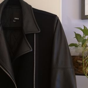 Wilfred Jackets & Coats - Wilfred Free Leather/Wool Jacket